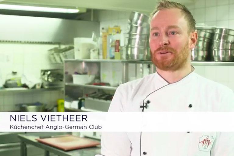 Toppits Professional Wrapmaster® Anwendungsvideo in der Gastronomie Pütter