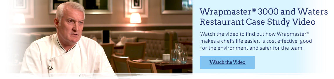 Wrapmaster 3000 and Waters Restaurant Case Study Video