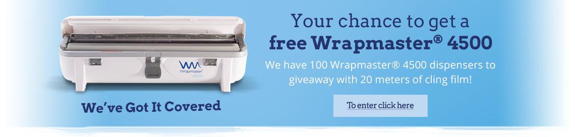 Wrapmaster 4500® Giveaway