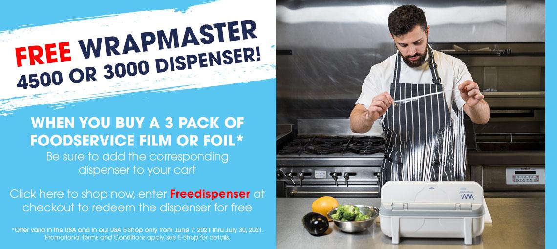 Free Dispenser Offer